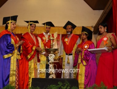 Graduation day of S.C.S College of Nursing Sciences held