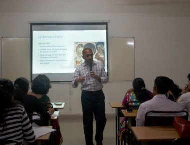 National level workshop on English literature held at SDM college