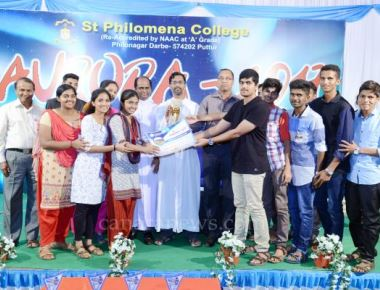 Science Fest 'AURORA- 2017' held at St Philomena College Puttur