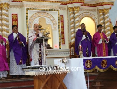 The Secular Franciscan Order (OFS) Recollection day held in the Mount Rosary Church, Kallianpur