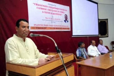 Seminar on 'Challenges and Opportunities of Catholic Education in India' held