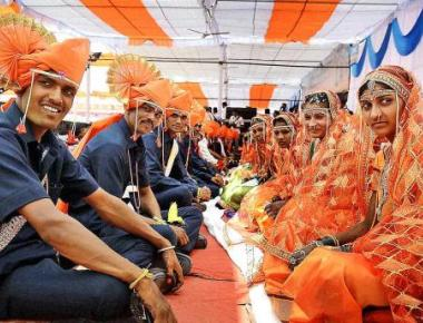 244 couples tie the knot at mass wedding ceremony by Sena