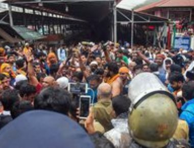 Cong, BJP flay Kerala government for bringing activists to Sabarimala
