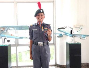 CSUO Prathiskha Shetty of SAC ranked fourth best NCC cadet