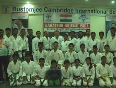 The Karatedo Gojukai National Training Camp and Championship 2016