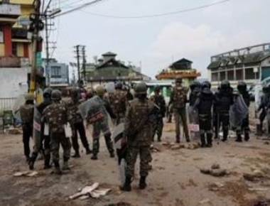 Situation tense in Shillong, curfew from 4 p.m.