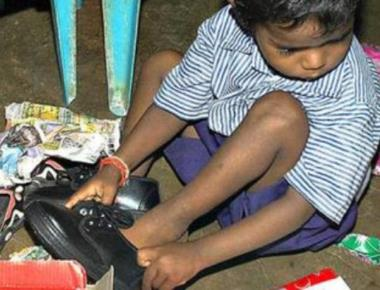 Free shoes unlikely for children this academic year