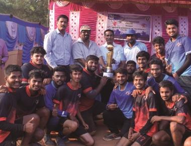 SIT emerge champions in handball tournament