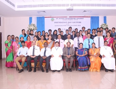 SJEC commemorates 17th anniversary of foundation day