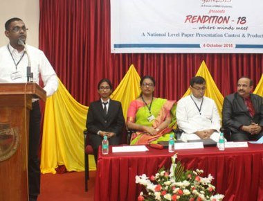 National level paper presentation contest, productive dialogue competition held at SJEC