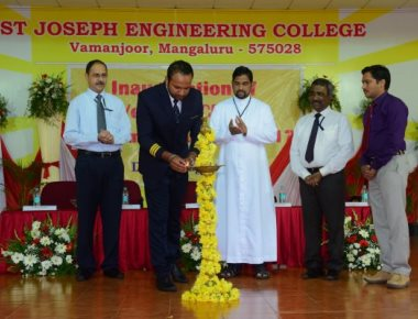 SJEC inaugurates first year BE classes