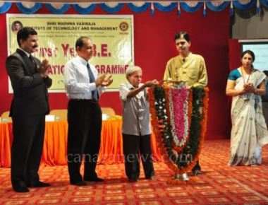 SMVITM organises orientation program for newly admitted B.E students