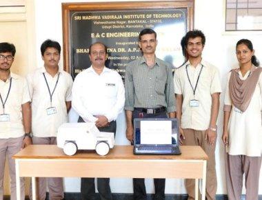 SMVITM students' design alarm system to combat 'blind spots'