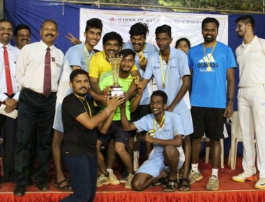SOAHS wins South Zone Inter-Allied Health Sports meet 2017