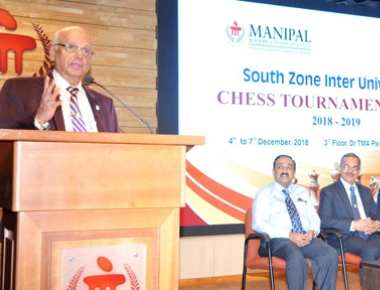 South zone varsity Chess goes underway at Dr TMA Pai hall