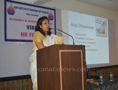 Saumya Chandraker delivers guest talk at Alvas Institute