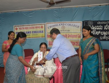 Women achievers felicitated at Crossland