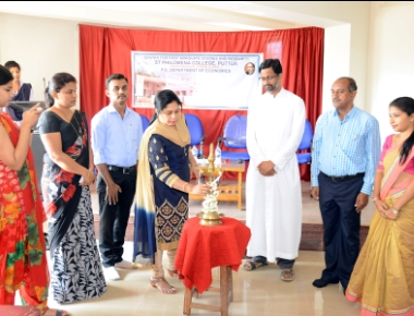 A Course on Spoken English Training inaugurated at St Philomena College Puttur