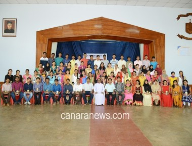 Reopening Ceremony and Felicitations at St Philomena PU College Puttur