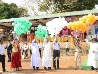 St Philomena College Puttur celebrated Annual Athletic Meet 2016-17