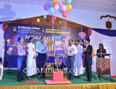 Management Fest FACULA-2017 'RANG' held at St Philomena College Puttur