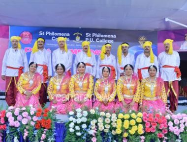 PTA & Alumni Day Celebrations held at St Philomena College Puttur