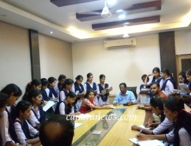 Industrial Visit organized by PG Department of Economics, SPC Puttur