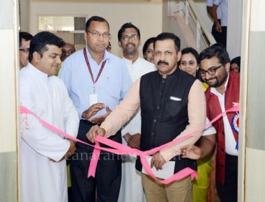 Inauguration of CSED and launching of ESTC at St Philomena College Puttur