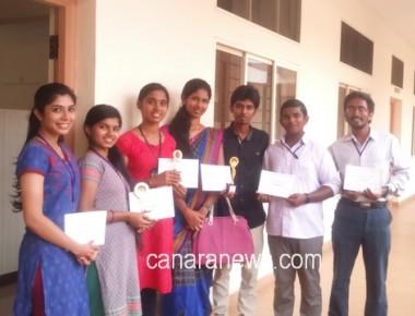 St Philomena College Puttur bagged championship in 'Eco-Arts Fest'