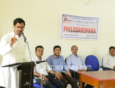 """Philodarshana 2016"" held at PG Centre of St Philomena College Puttur"