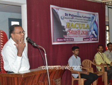 FACULA – SRUSTI 2K16' organized at St Philomena College Puttur