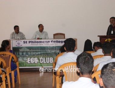 Inaugural Programme of Eco Club at St Philomena College Puttur