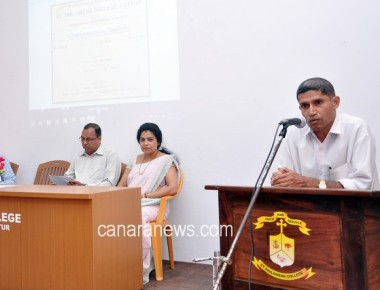 Certificate Course in Communicative English inaugurated at St Philomena College Puttur