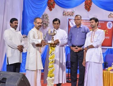 Sanskrit Fest held at St Philomena College Puttur