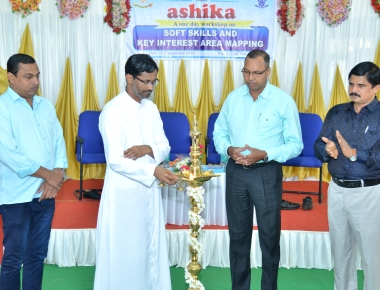 Workshop on Soft Skills and Key Interest Area Mapping-'ASHIKA' held at SPC Puttur