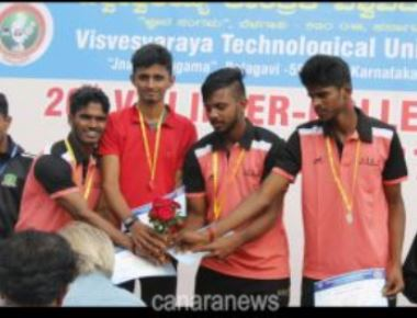 Alva's MBA Students Shine at VTU Intercollegiate Tourney