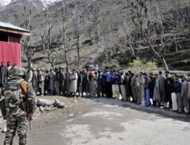 Only 2 pc turnout in repoll in Srinagar LS constituency