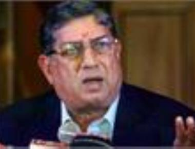 Srinivasan cannot represent BCCI in ICC meet, says SC