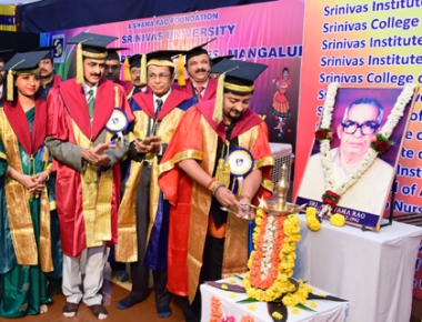 Srinivas Group of Colleges celebrates Graduation, College, Founder's Day