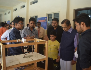 Srinivas Institute of Technology hosts two day student project exhibition