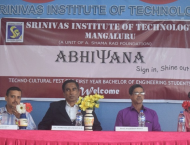 Srinivas Institute of Technology holds 'Abhiyana' programme