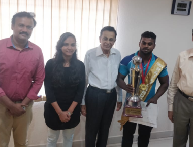 Srinivas College student Prathik Suraj earns titles at Mr Rajiv Gandhi University contests