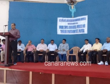 St. Peter's Association Mumbai celebrated Feast and Annual Day