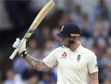 Stokes stars with the bat as England lead Windies