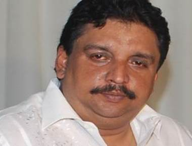 Stone thrown at Kerala minister during TV debate