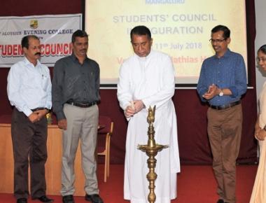 Students' council inaugurated at SAEC