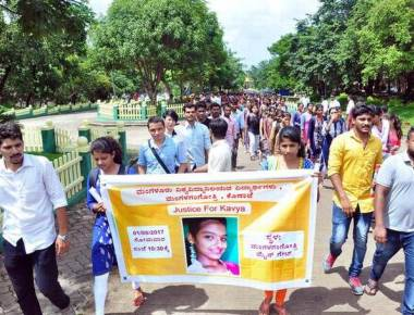 University students demand CBI probe