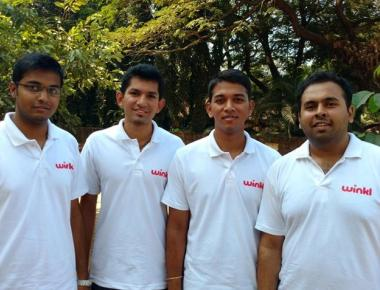 Four students of NITK, Surathkal, bring out Winkl, the shopping App
