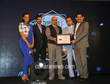 "Kadandale Suresh Bhandary honored by ""Society Icon"" award"