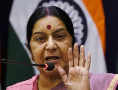 Hand chopping incident: It's unacceptable, says Swaraj